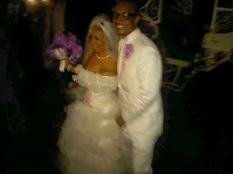 Urban Celebrity Weddings T.I. and Tiny Carmelo Lala Swizz Beats Alicia Keys